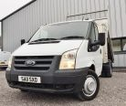FORD TRANSIT ONE WAY TIPPER 350 DRW - 707 - 6