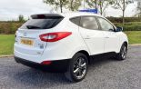 HYUNDAI IX35 DIESEL ESTATE 2.0 CRDI SE NAV 5dr 6 SPEED - 785 - 6
